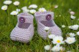 Landlust - Für kleine Füße Babyschühchen gehäkelt