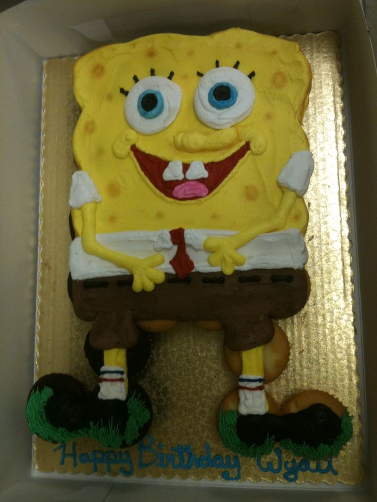 Spongebob Pull Apart Cupcakes So Easy Spongebob