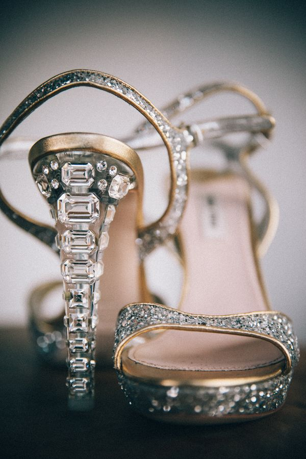Glitzy Pair of Miu Miu's| Speakeasy Themed Wedding|Photographer:  Zorz Studios