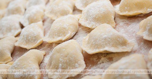 Pierogi z serem feta