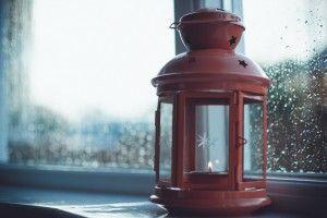 Lamp Candle Window HD Wallpaper