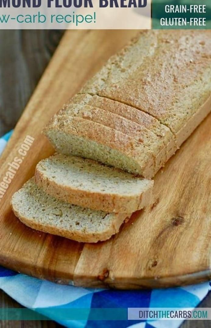 Pin On Low Carb Almond Flour Bread