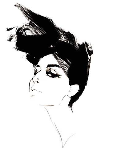 #renegruau #illustration #fashionillustration