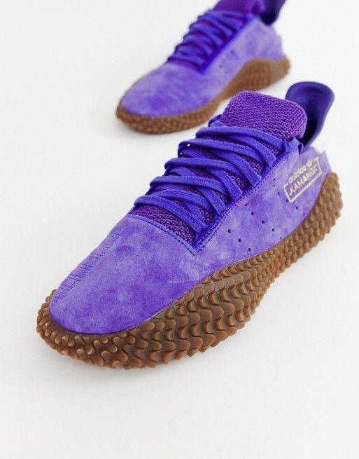 adidas Originals Kamanda Sneakers In Blue mens sneakers in