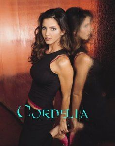 cordelia chase she grew the most of any of the characters I think, and though she started out shallow, proved she had a great heart-