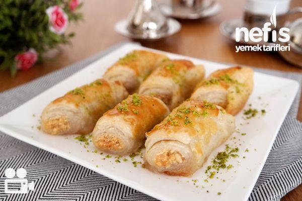 Şerbetli Milföy Tatlısı Tarifi (videolu tarif)