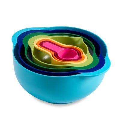 Joseph Joseph® 8-Piece Multi Color Nesting Bowl and Measuring Set - BedBathandBeyond.com