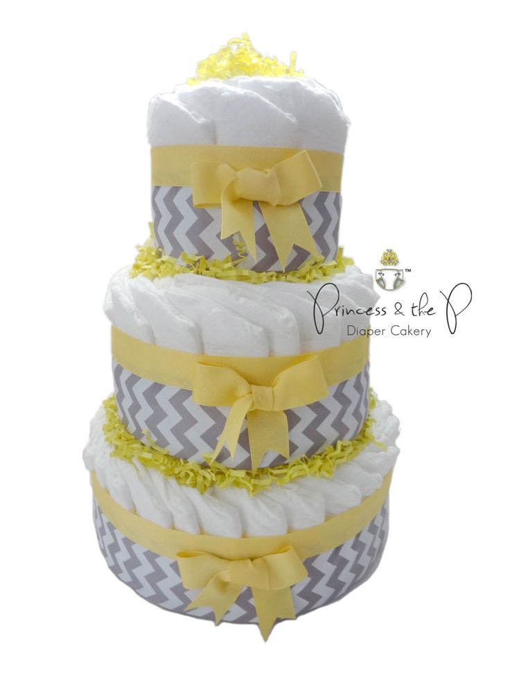 Diaper Cake, Chevron diaper cake, your choice of color, chevron baby shower, centerpiece, decoration by PrincessAndThePbaby on Etsy https://www.etsy.com/listing/189004626/diaper-cake-chevron-diaper-cake-your