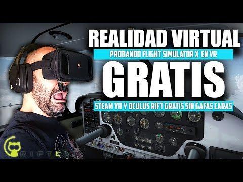 (52) STEAM VR GRATIS CON XIAOMI MI VR Y RIFTCAT   REALIDADD VIRTUAL STEAM VR   PROBANDO FSX VR - YouTube