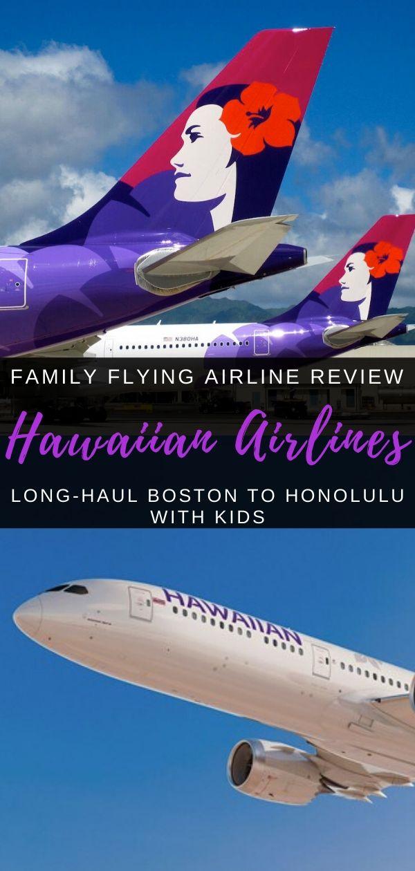 Flying Hawaiian Airlines Long Haul With Kids Hawaiian Airlines