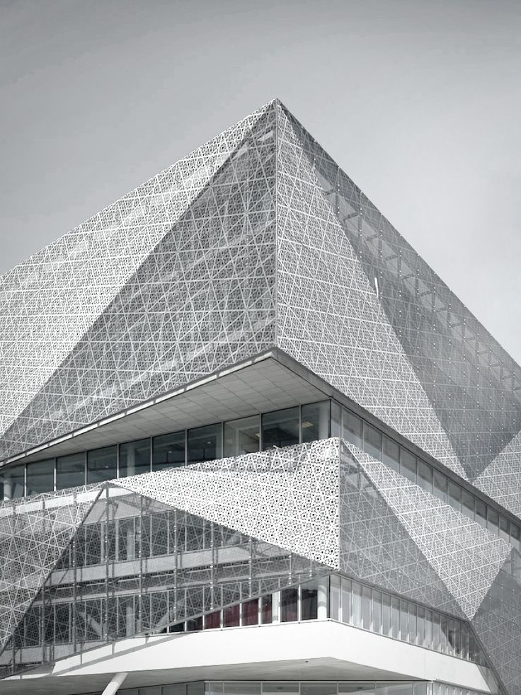 ♂ Unique modern architecture grey building  #modern