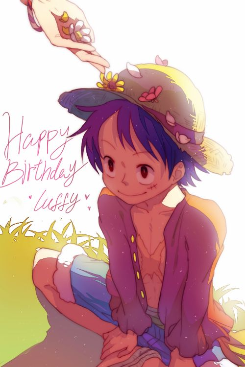 Tags: Anime, ONE PIECE, Monkey D. Luffy, Straw Hat, Text ...