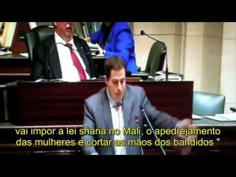 RARIDADE! Filmado um deputado que usa o seu cérebro! :-) - YouTube