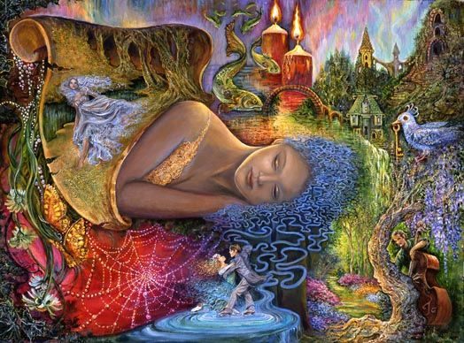 Josephine wall fantasy artist art people gallery josephine wall voltagebd Image collections