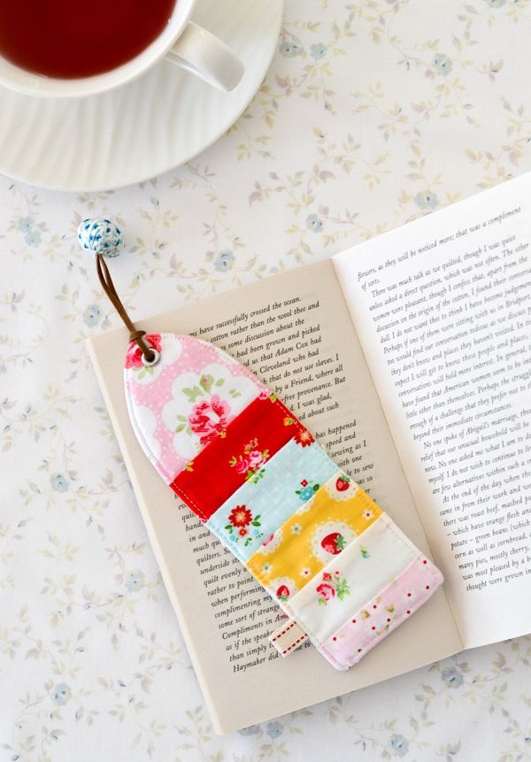 Spring | Scrappy bookmark ~ by Down Grapevine Lane