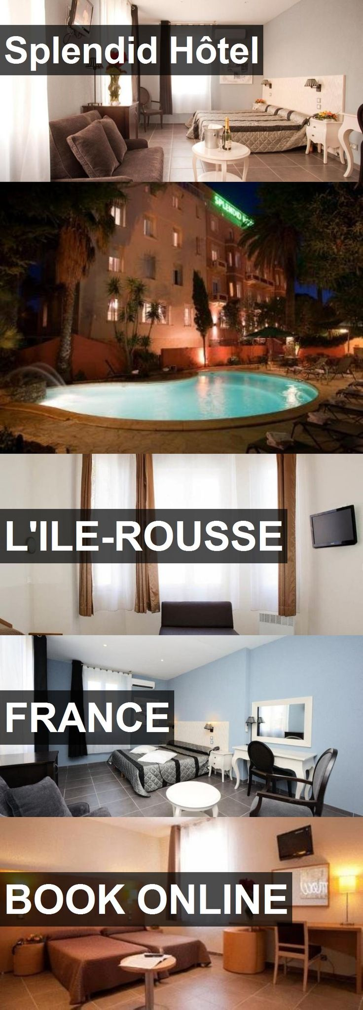 Hotel Splendid Hôtel in L'Ile-Rousse, France. For more information, photos, reviews and best prices please follow the link. #France #L'Ile-Rousse #travel #vacation #hotel
