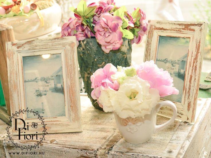 Vintage virágdekoráció