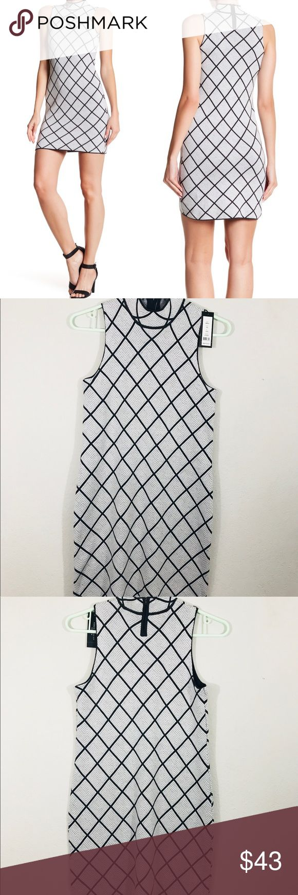 "Romeo + Juliet Couture Geometric Sleeveless Dress Romeo + Juliet Couture Geometric Sleeveless Dress  Size Medium  Brand New with tags  Measurements were taken with garment laying flat. Chest: 15""  Length: 34.5"" Romeo & Juliet Couture Dresses"