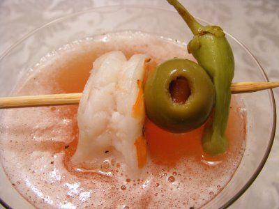 Bloody Mary Martini, yum! ♥