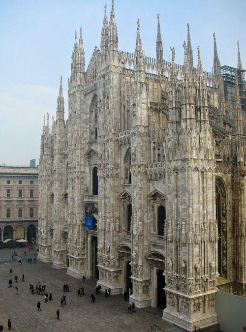 Duomo of Milan, a photo from Milan, Lombardia   Milan, Lombardy, Italy