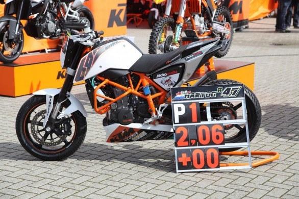KTM Duke 690 for European Junior Cup 2012