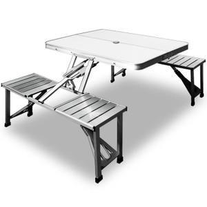 Table de pique-nique - Alu - pliable et portable