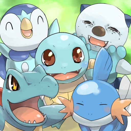 Water Starter Pokemon