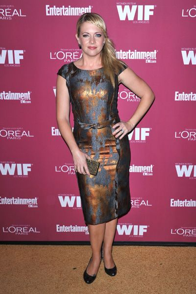 buy this dress at FLAIR boutique now.  Melissa Joan Hart and Sarah Rafferty at Pre-Emmy Party