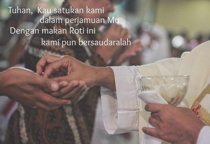 Selamat hari Minggu jangan lupa ekaristi  Berkah Dalem  Captured by : @christ_yoga  #misa #komuni #ekaristi #eucharist #kaos #christian #blessing #Jesuschrist #Jesus #Christfollower  #blessed #bless #Peace #katolik #kristen #kristiani #damai #garam #terang #garamdanterang #berkahdalem #berkah_dalem #bibleverse #holy #bible #psalm #holyspirit by berkah_dalem