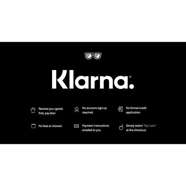 Buy Now Pay 30 Days Later With Klarna Is Available For All Orders