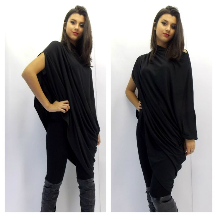 Now selling: Asymmetric Tunic / Plus Size Tunic / Black Loose Tunic / Oversize Tunic Dress / Black Dress Tunic / Maternity Tunic TT06 https://www.etsy.com/listing/177866260/asymmetric-tunic-plus-size-tunic-black?utm_campaign=crowdfire&utm_content=crowdfire&utm_medium=social&utm_source=pinterest