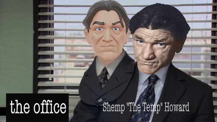 """The Office Halloween episode where Shemp Howard and Michael Scott had the same costume resulting in Shemp """"The Temp"""" getting cut."""