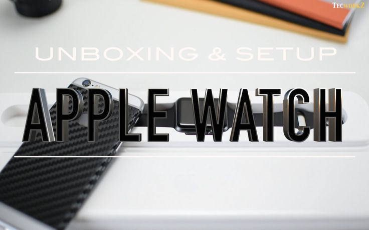 Apple Watch Unboxing and Setup
