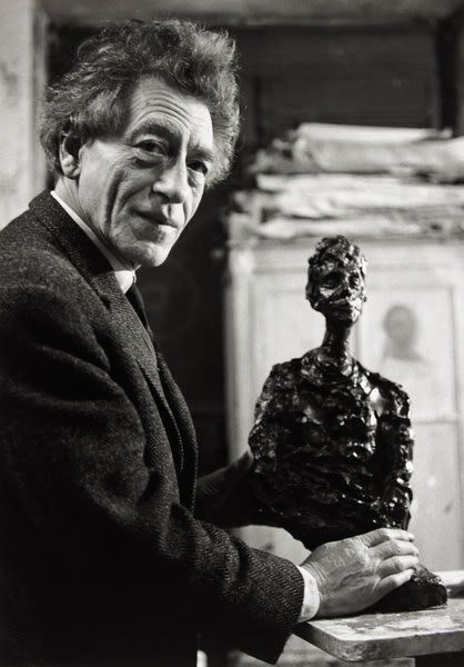 Alberto Giacometti, Paris 1964 by Gisele Freund