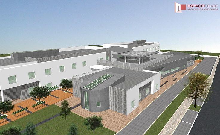 Espaço Cidade Arquitectos - Projectos - Lar /Residências St Maria e St Angela