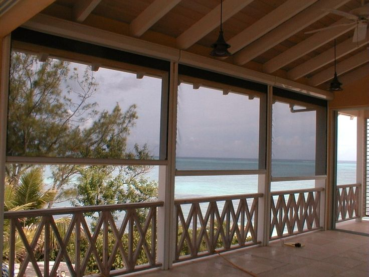 Screened patios, screen porch system, retractable patio screen, cape cod retractable, Shade and Shutter Systems