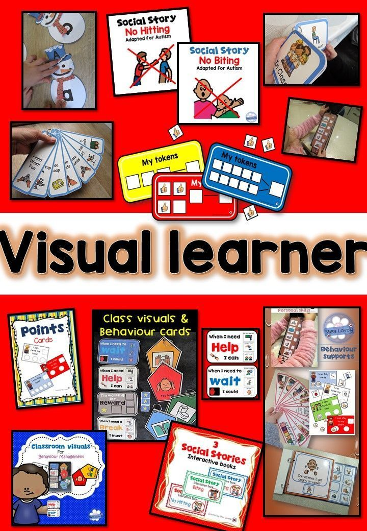 Visual resources for visual learners!
