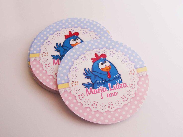 adesivo-5cm-latinha-mint-to-be-arte-galinha-pintadinha