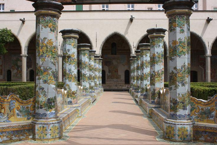 Chiostro del Monastero di Santa Chiara, napoli