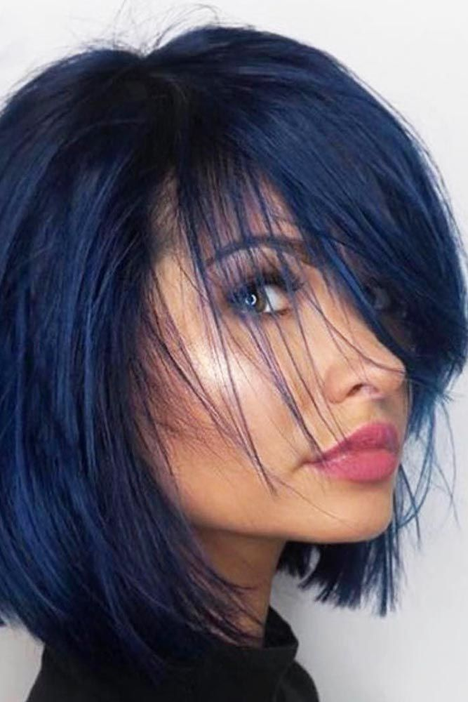 short blue hair ideas