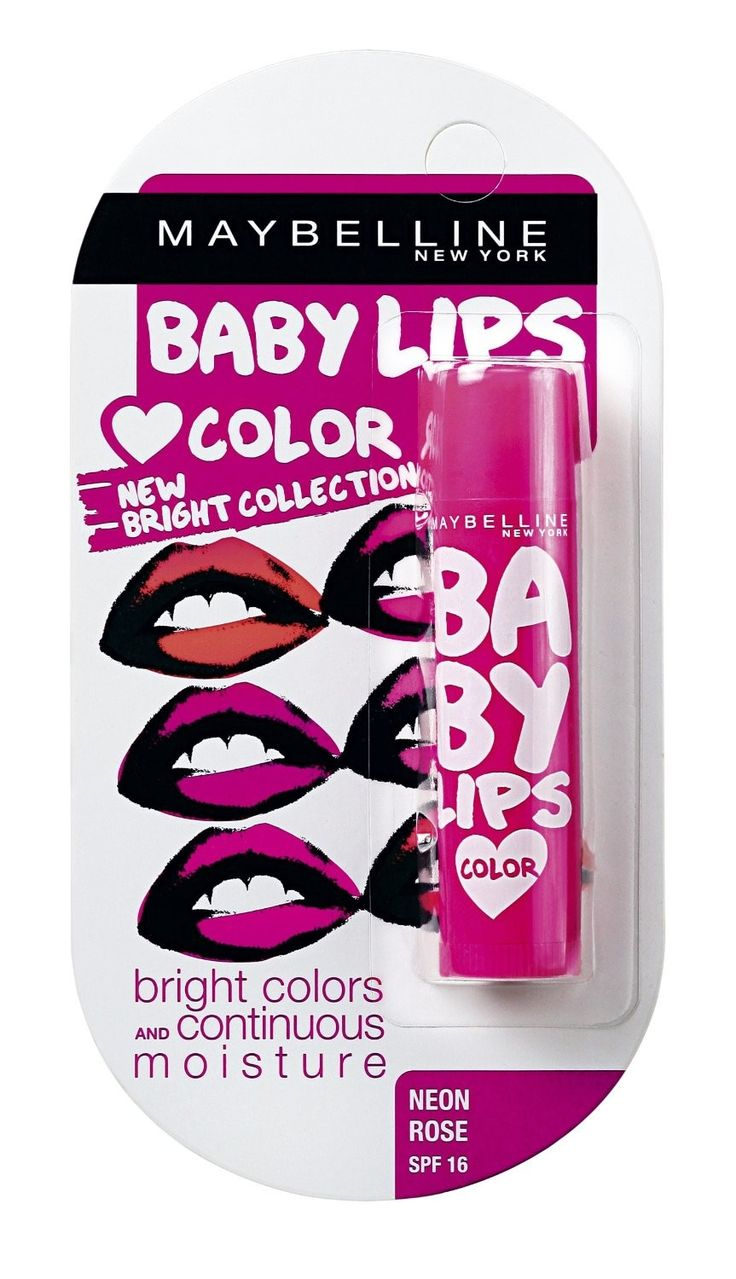 Maybelline Baby Lips Brights Neon Rose To Buy : http://onerx.in/maybelline-baby-lips-brights-neon-rose.html