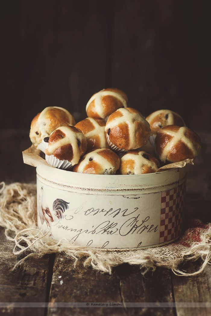 Kanela y Limón: Hot cross buns