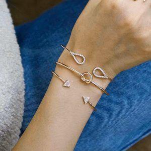 Lot bracelet createur tendance hiver