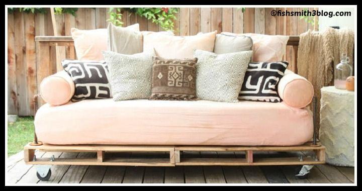 DIY Pallet Couch Tutorial
