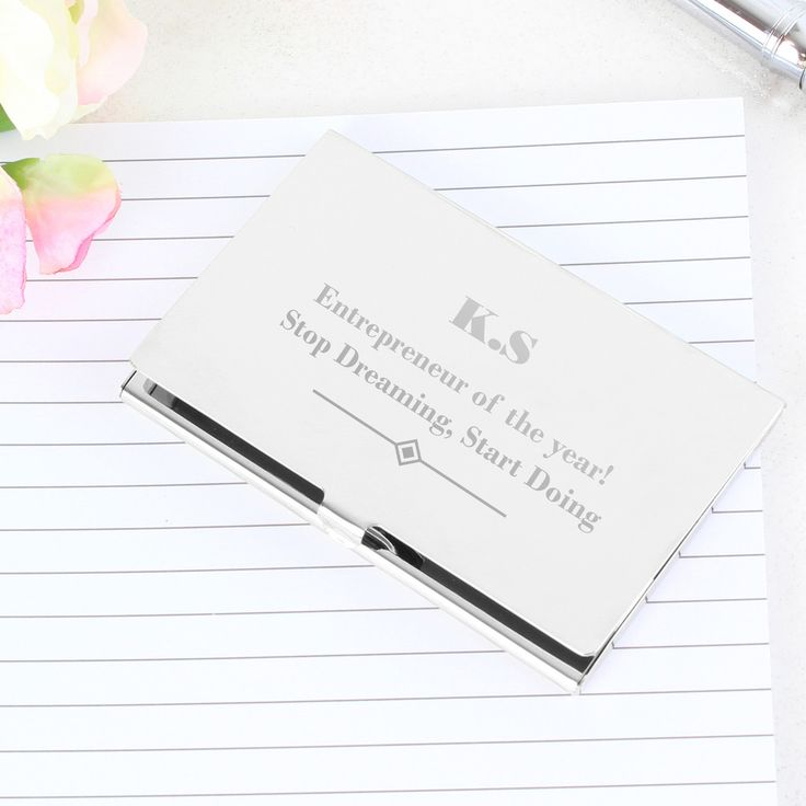 Personalised Art Deco Business Card Holder | Products, Art and ...