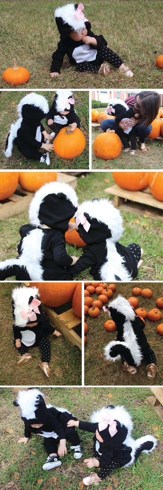 cornflake dreams.: baby's first #halloween costume. #babyhalloween #babyskunk