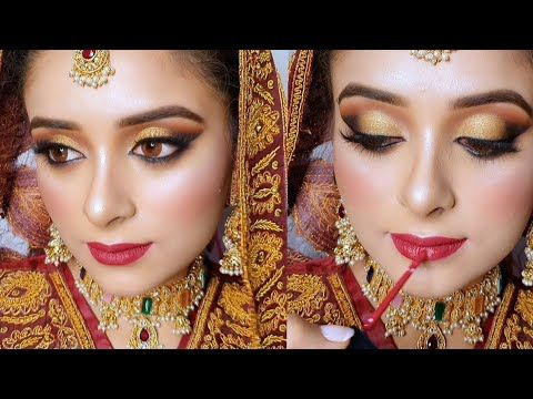 Step By Step How To Do Pakistani Asian Bridal Makeup Tutorial Youtube Asian Bridal Makeup Bridal Makeup Tutorial Asian Bridal