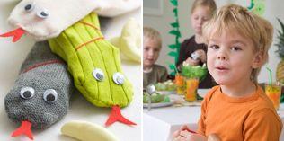 Hvem prøver å sno seg? - http://www.dansukker.no/no/inspirasjon/barneselskap/jungelbursdag/aktiviteter-og-leker.aspx #barneselskap #lek
