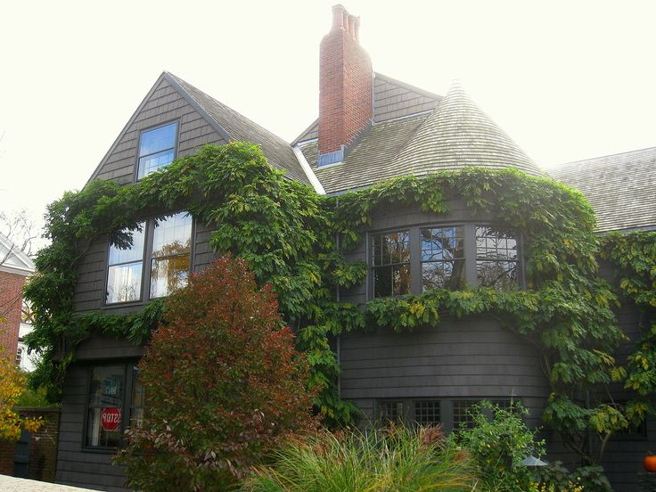 Hipped Roof with Cross Gables. Mary Fisk Stoughton House. Cambridge, MA. 1882.