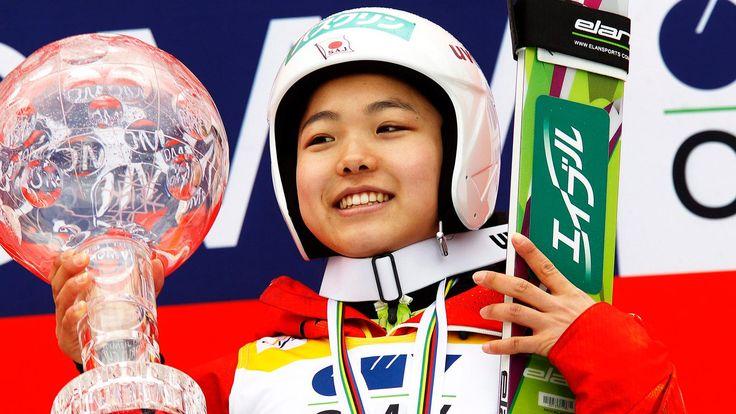 Weltcup-Siegerin 2013/14: Sara Takanashi | Bildquelle: dpa